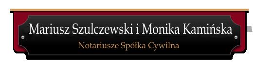 Mariusz Szulczewski - Notariusz